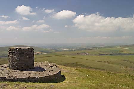 The campsite is positions at the edge of the Preseli Hills, ideal for
